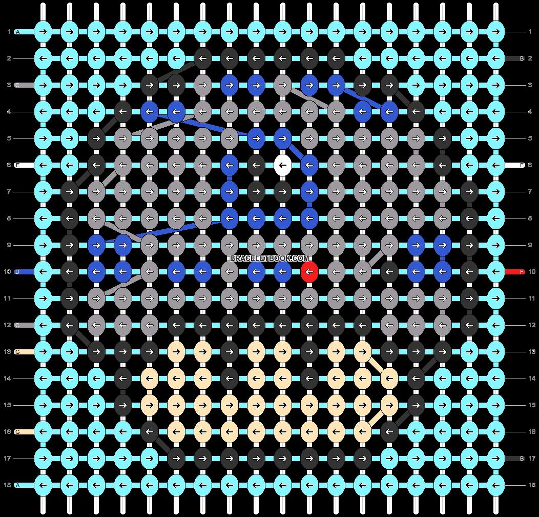 Alpha pattern #89713 pattern