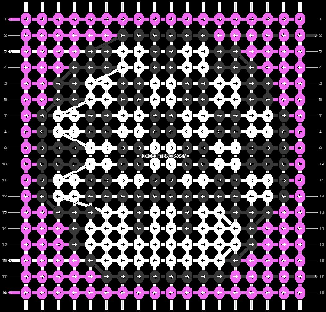 Alpha pattern #89714 pattern
