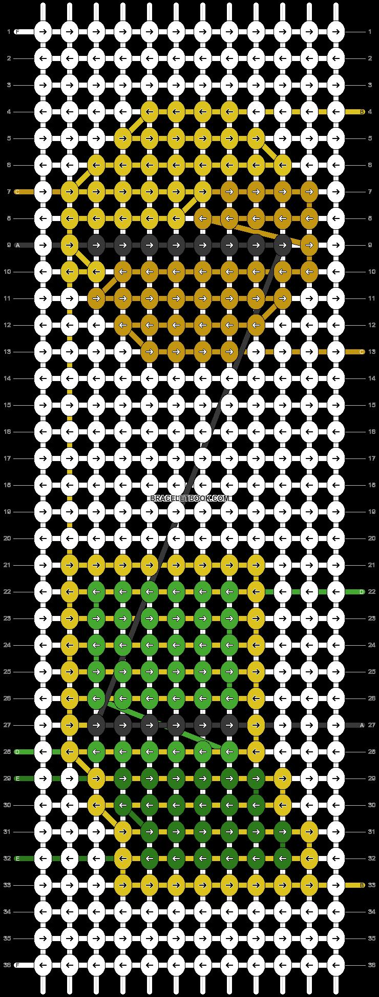 Alpha pattern #89715 pattern