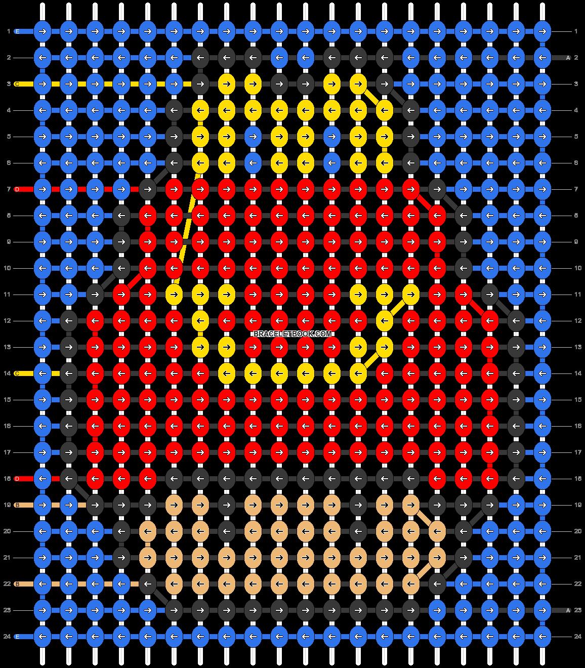 Alpha pattern #89723 pattern