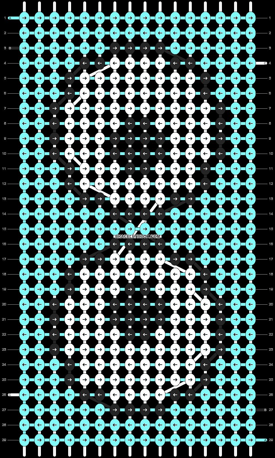 Alpha pattern #89729 pattern