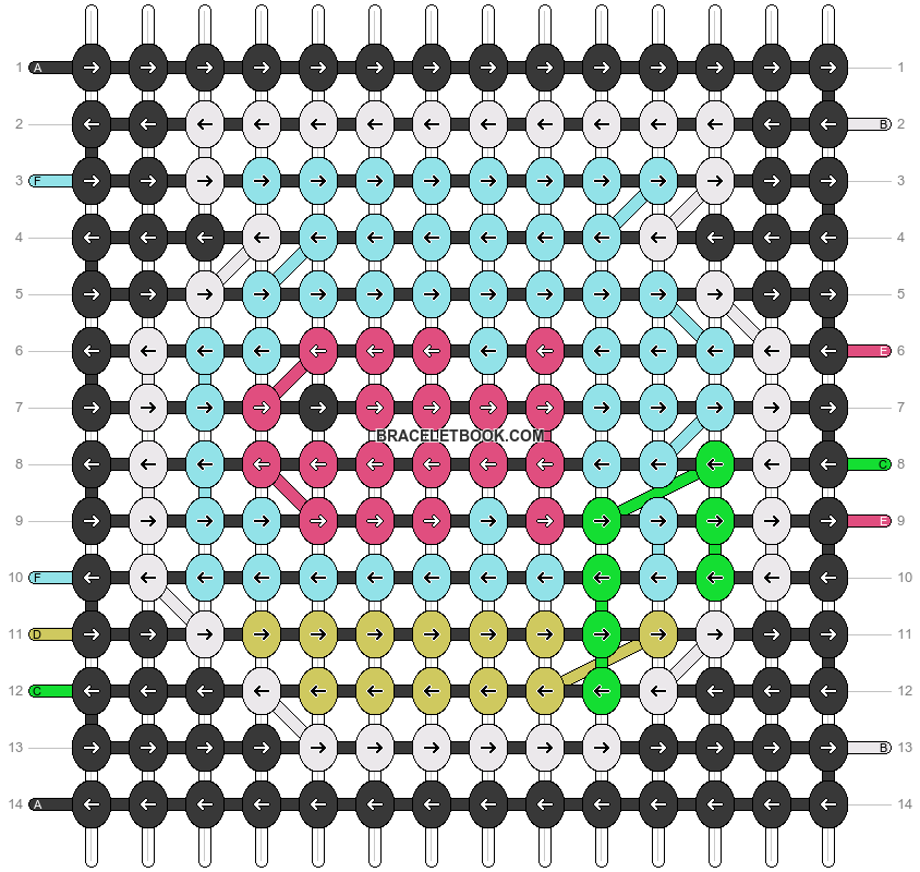 Alpha pattern #89731 pattern