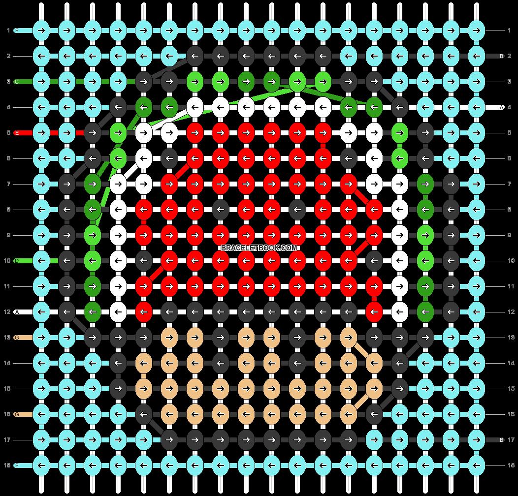 Alpha pattern #89739 pattern