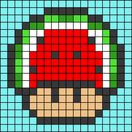Alpha pattern #89739