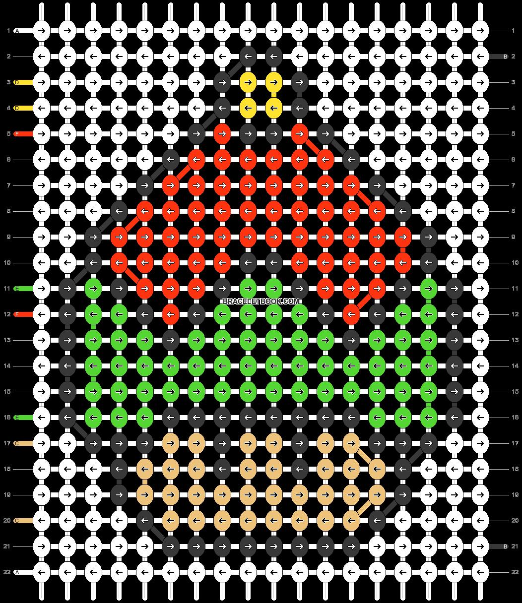Alpha pattern #89740 pattern