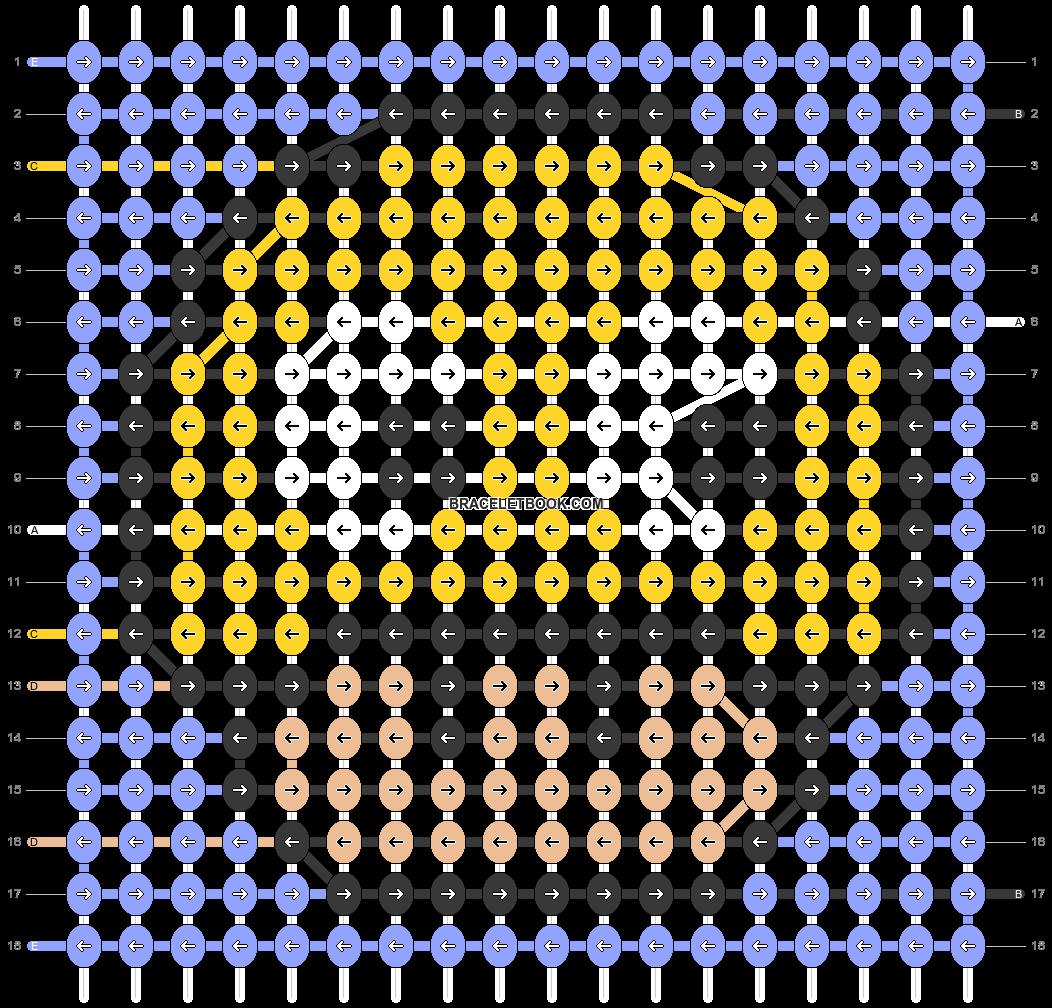 Alpha pattern #89749 pattern