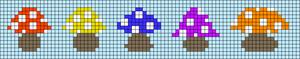 Alpha pattern #89754