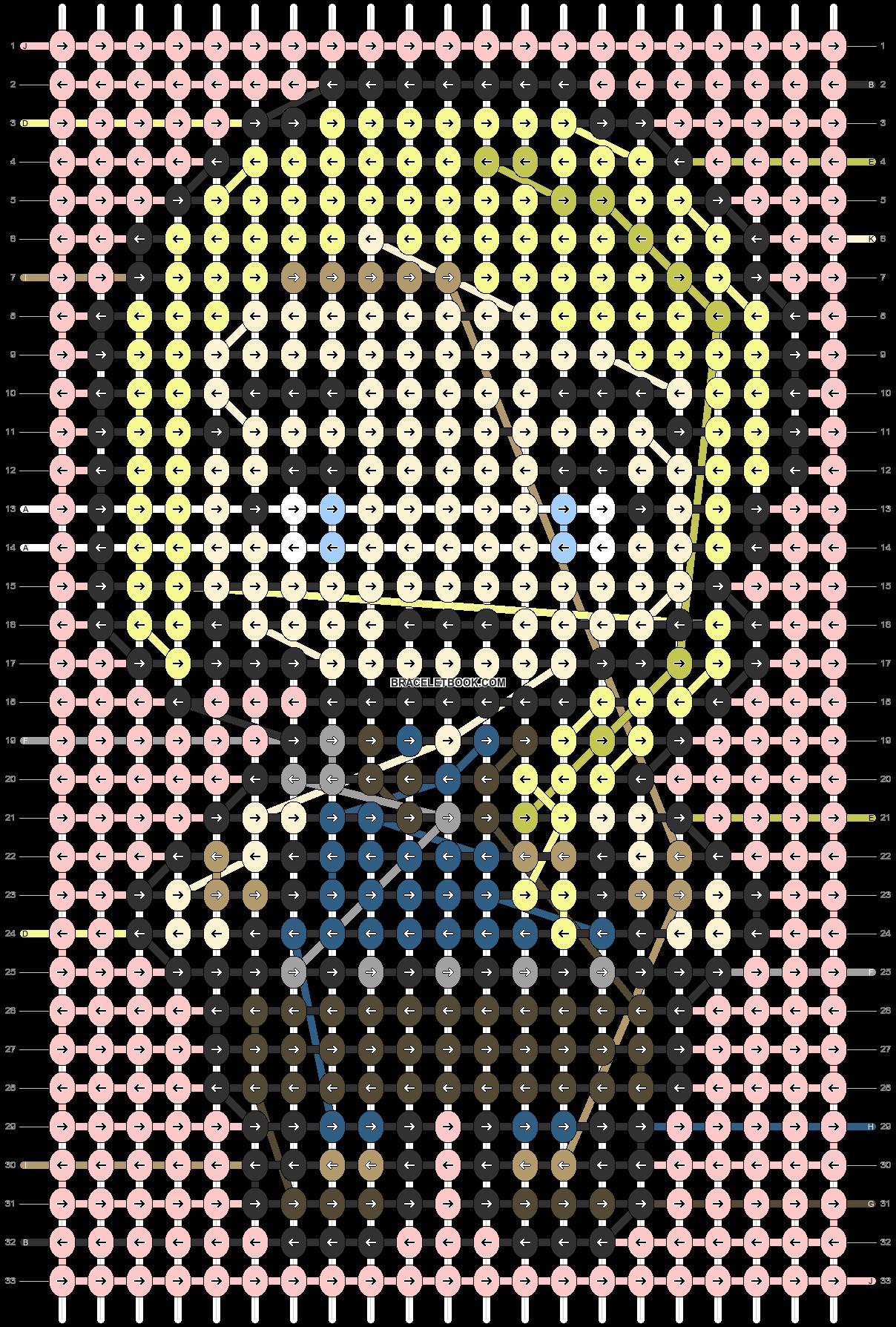 Alpha pattern #89761 pattern