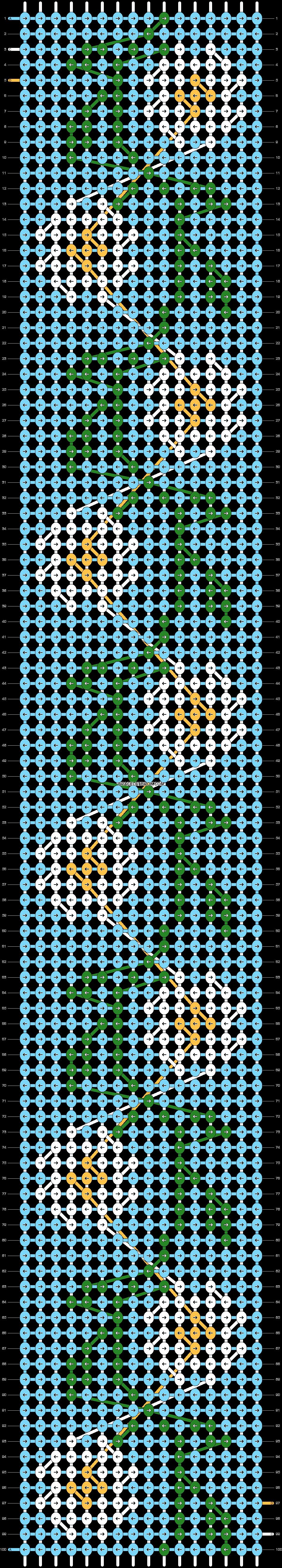 Alpha pattern #89765 pattern