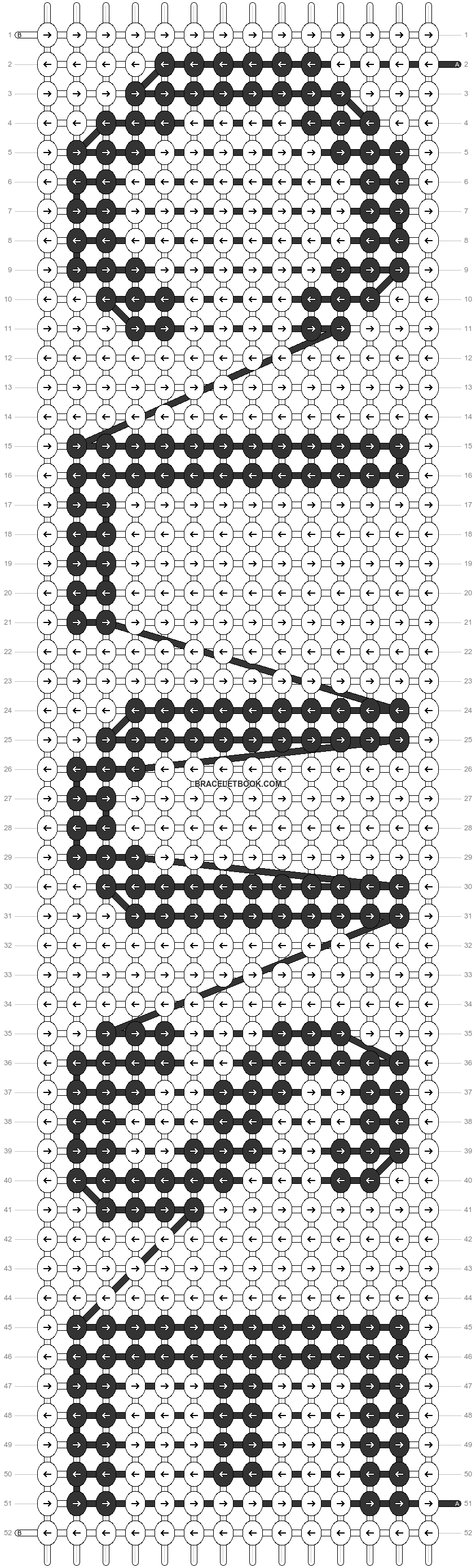 Alpha pattern #89769 pattern