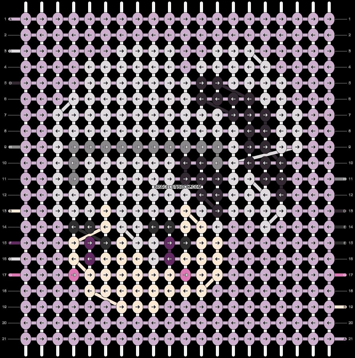 Alpha pattern #89789 pattern