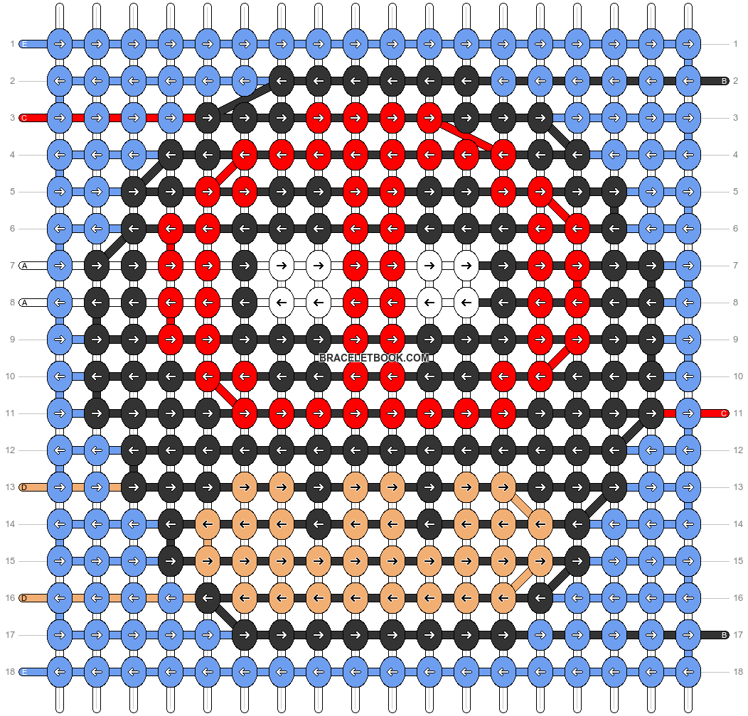 Alpha pattern #89793 pattern