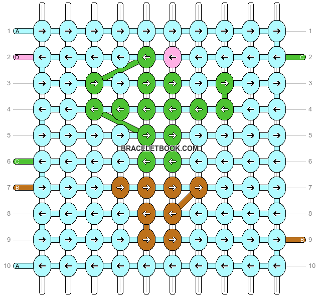 Alpha pattern #89800 pattern