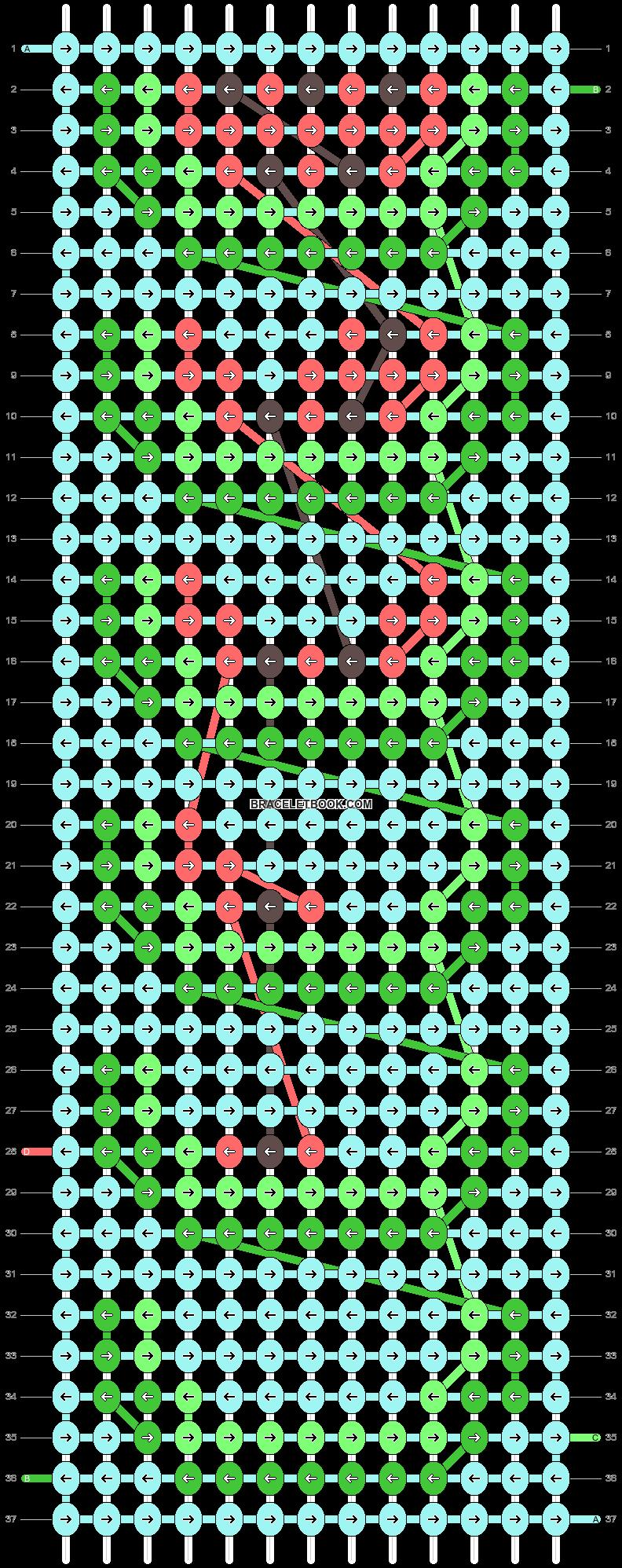 Alpha pattern #89809 pattern