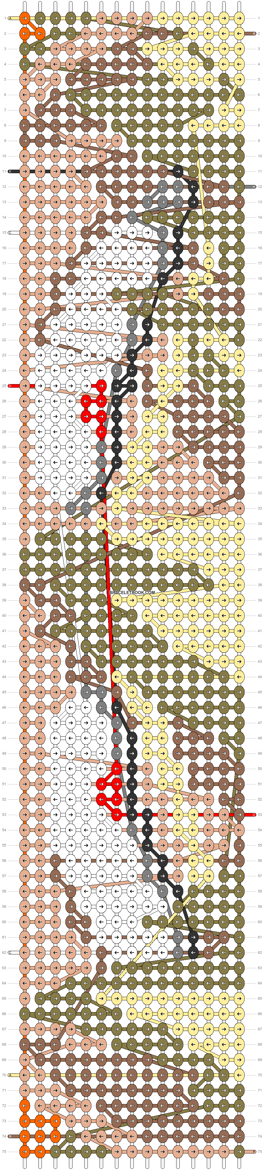 Alpha pattern #89817 pattern
