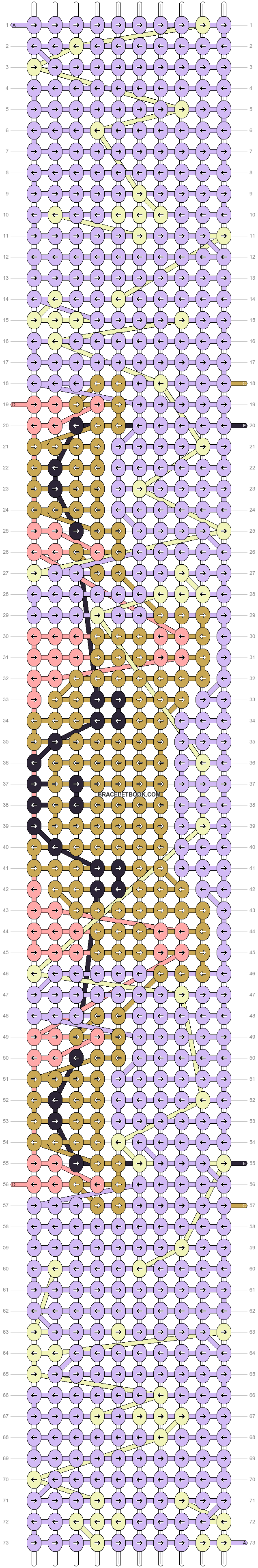 Alpha pattern #89827 pattern
