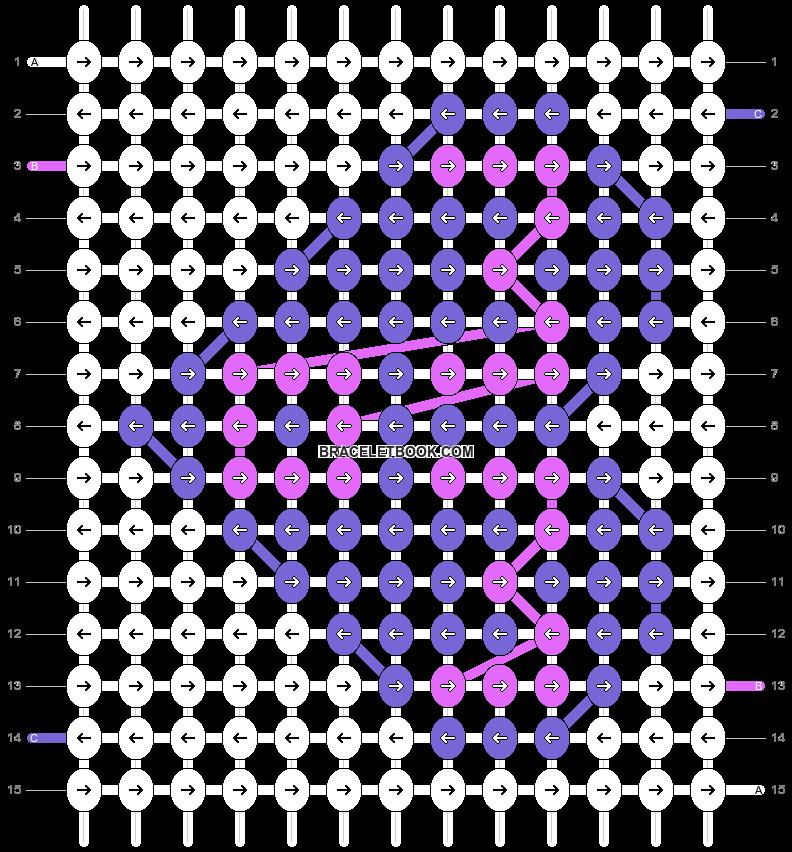 Alpha pattern #89833 pattern