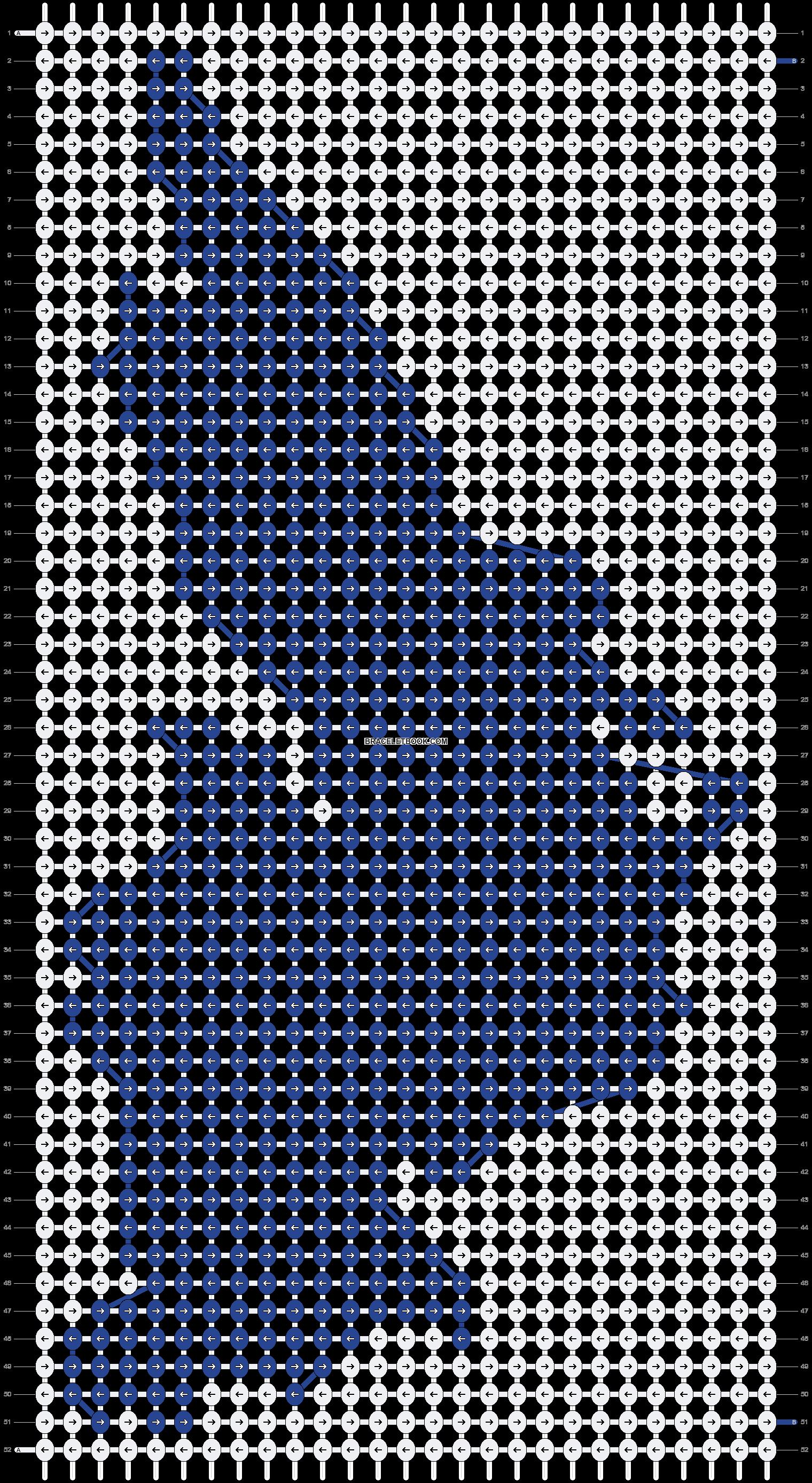 Alpha pattern #89838 pattern