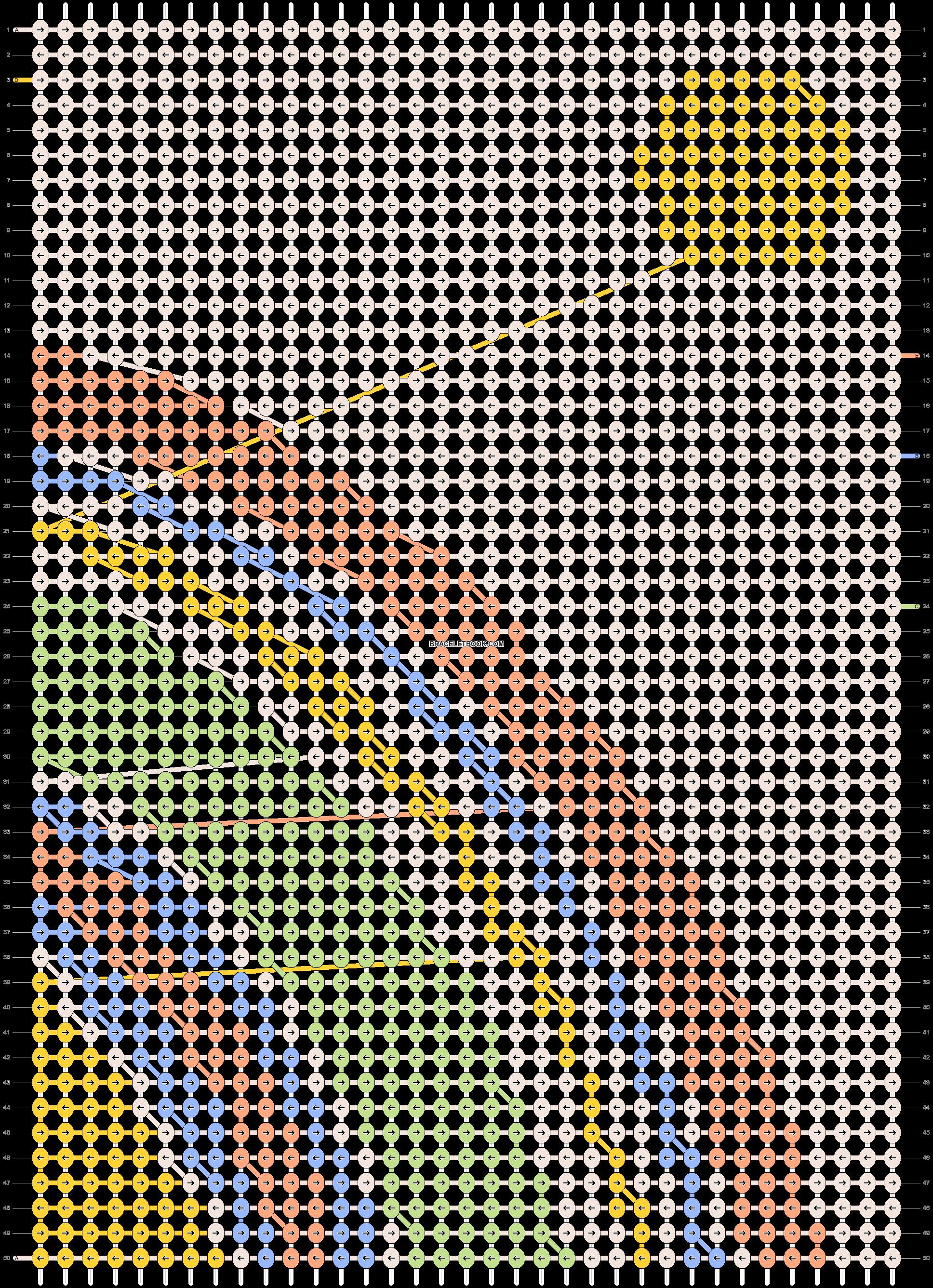 Alpha pattern #89844 pattern