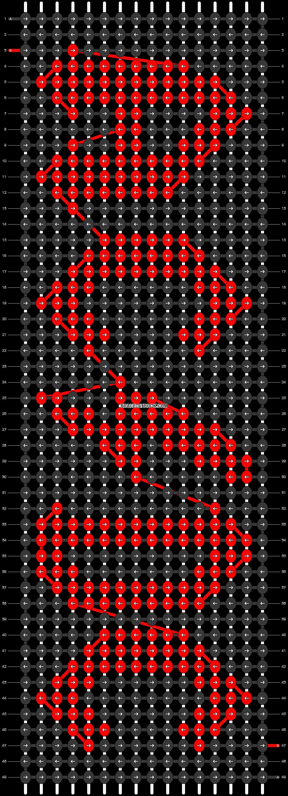 Alpha pattern #89846 pattern