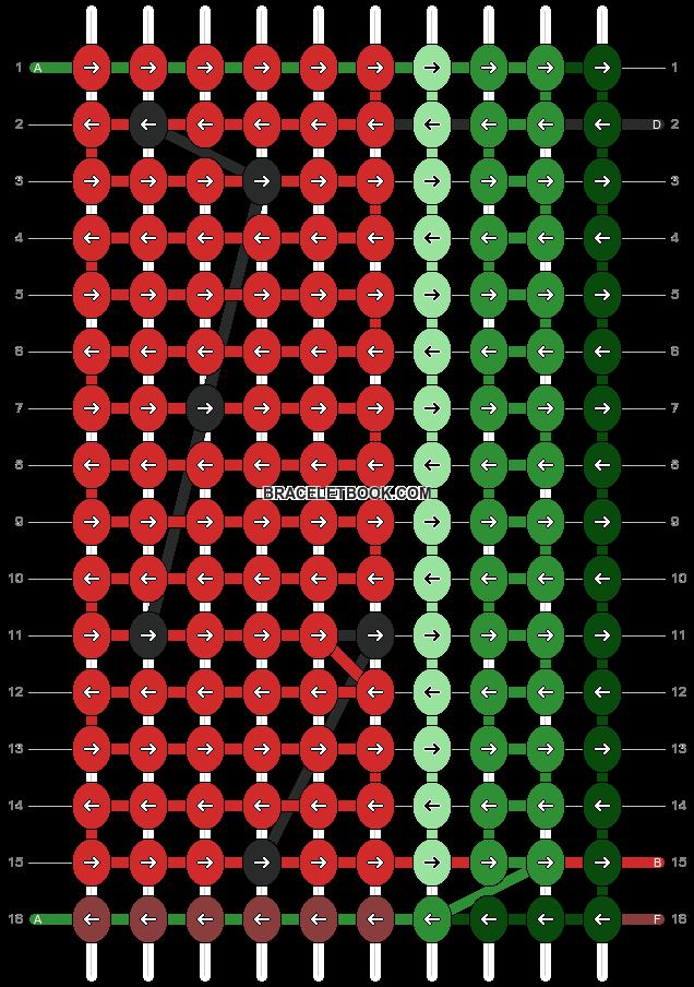 Alpha pattern #89866 pattern
