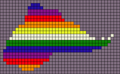 Alpha pattern #89876