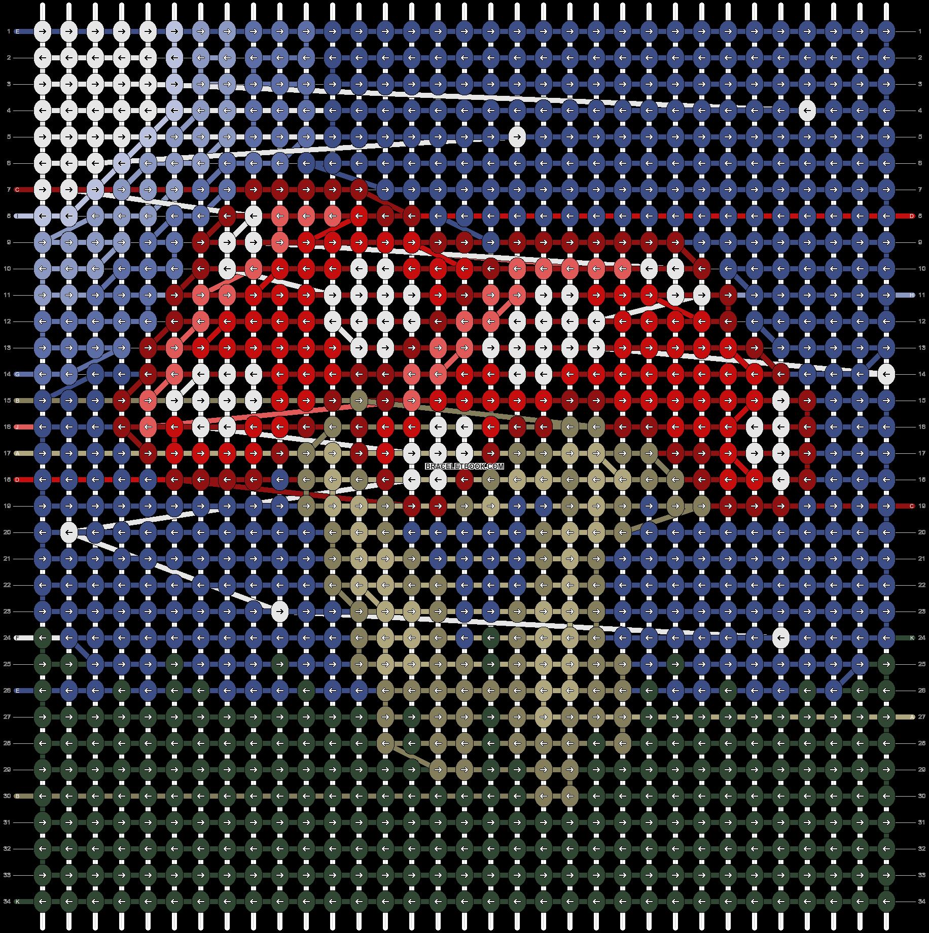 Alpha pattern #89882 pattern
