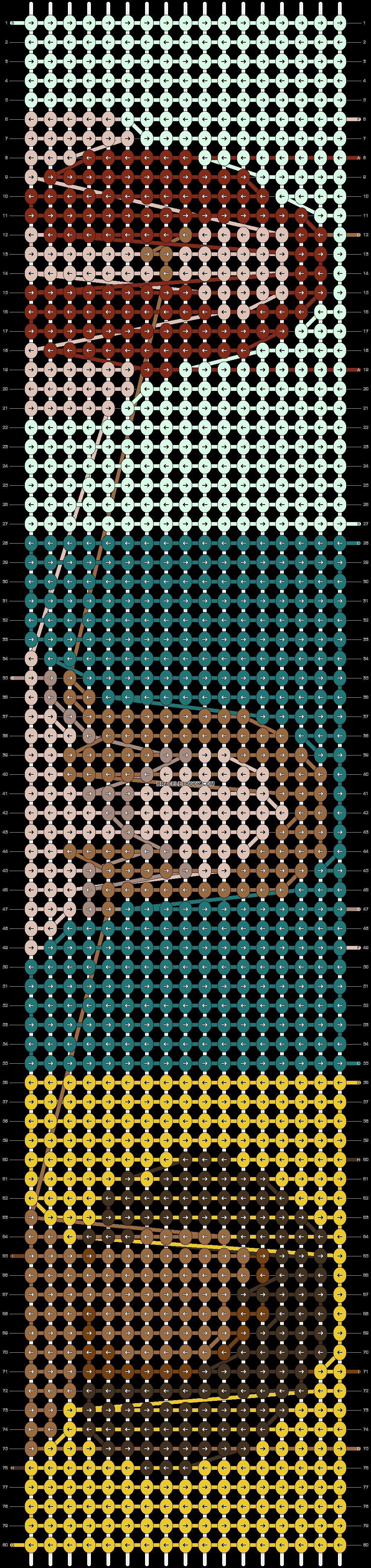 Alpha pattern #89888 pattern