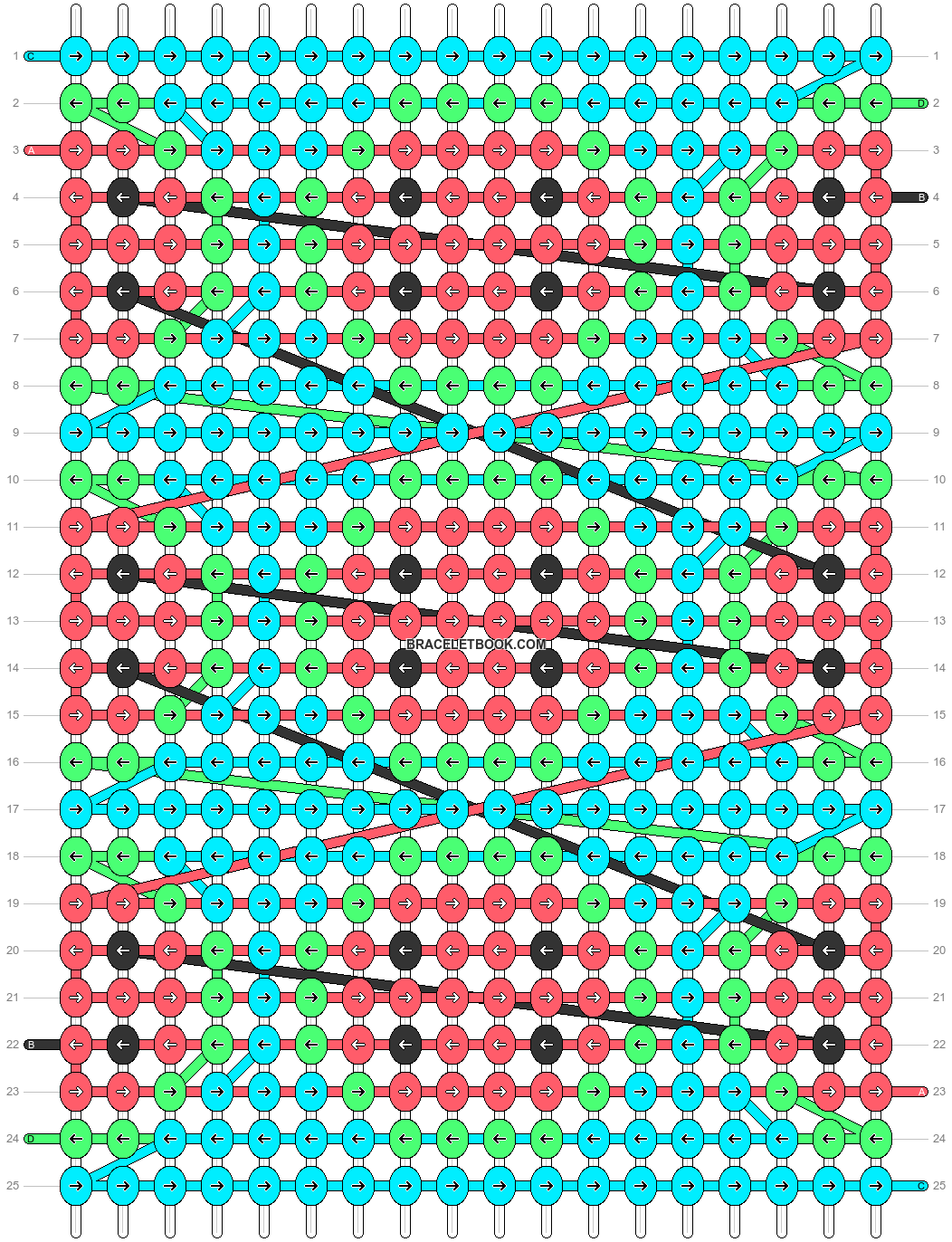 Alpha pattern #89914 pattern