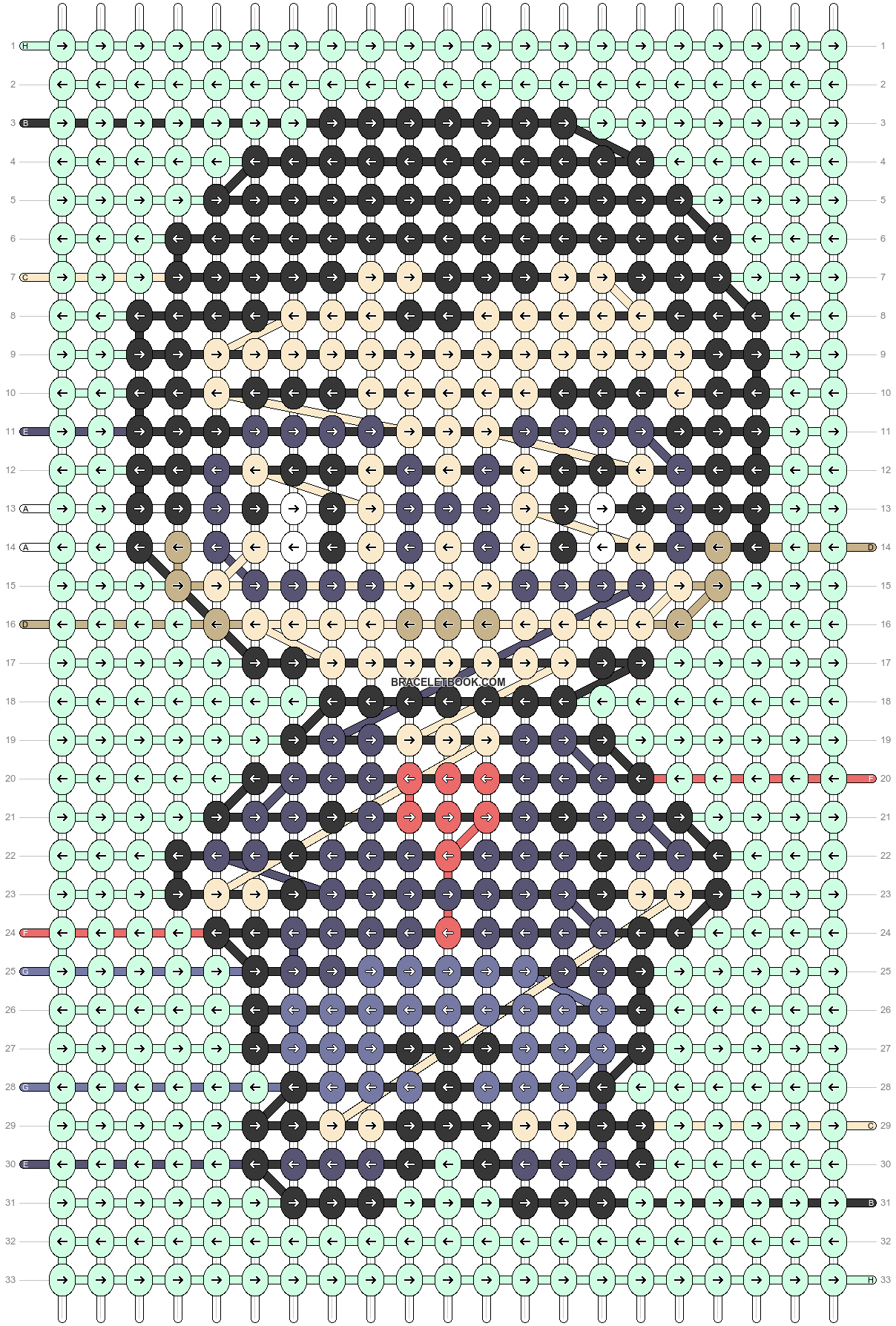 Alpha pattern #89915 pattern