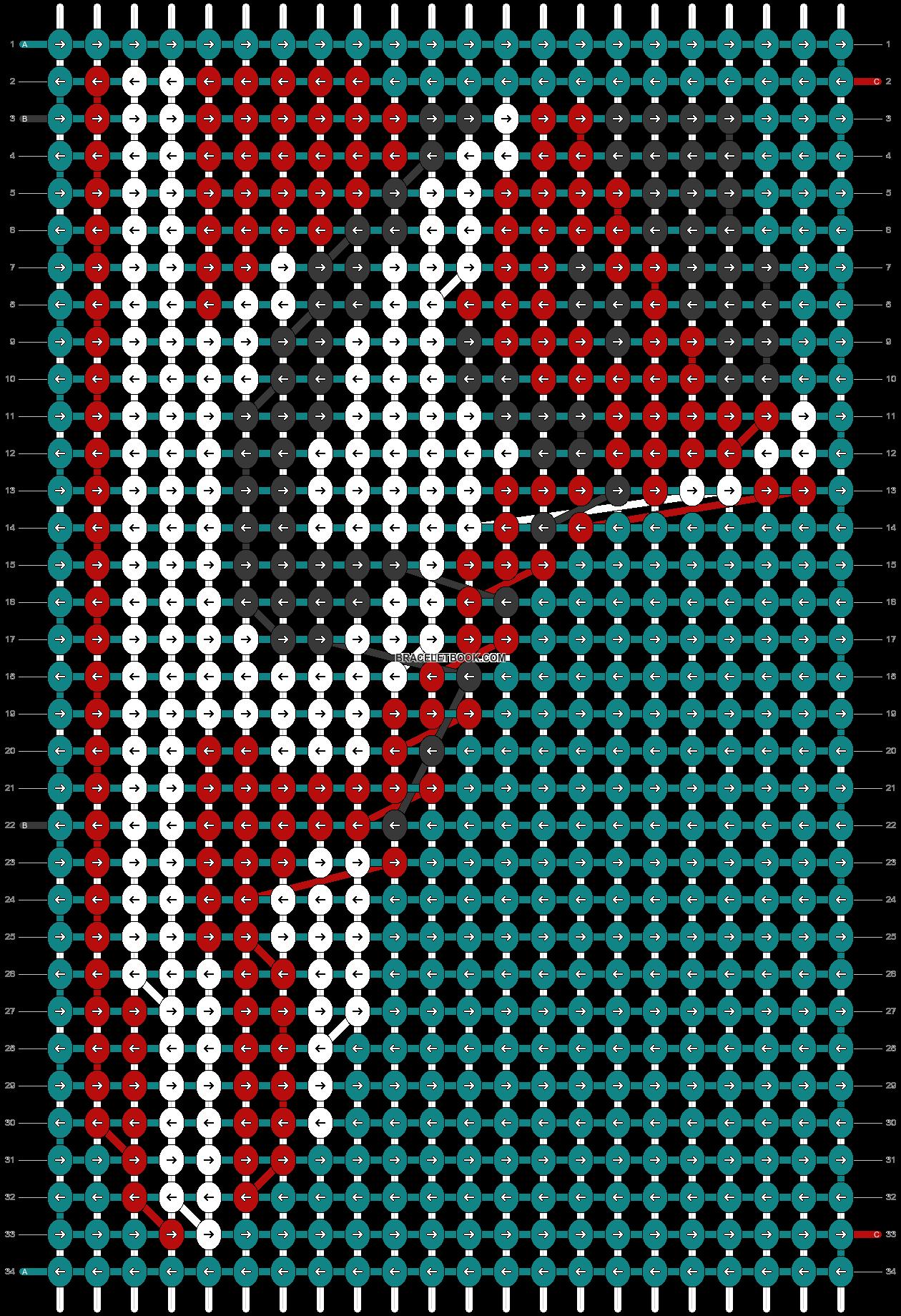Alpha pattern #89934 pattern
