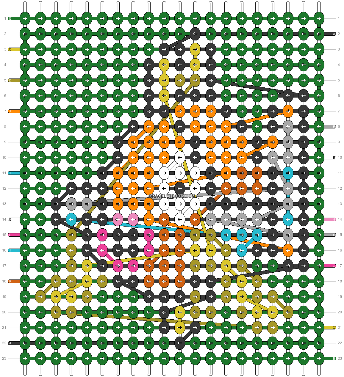 Alpha pattern #89967 pattern