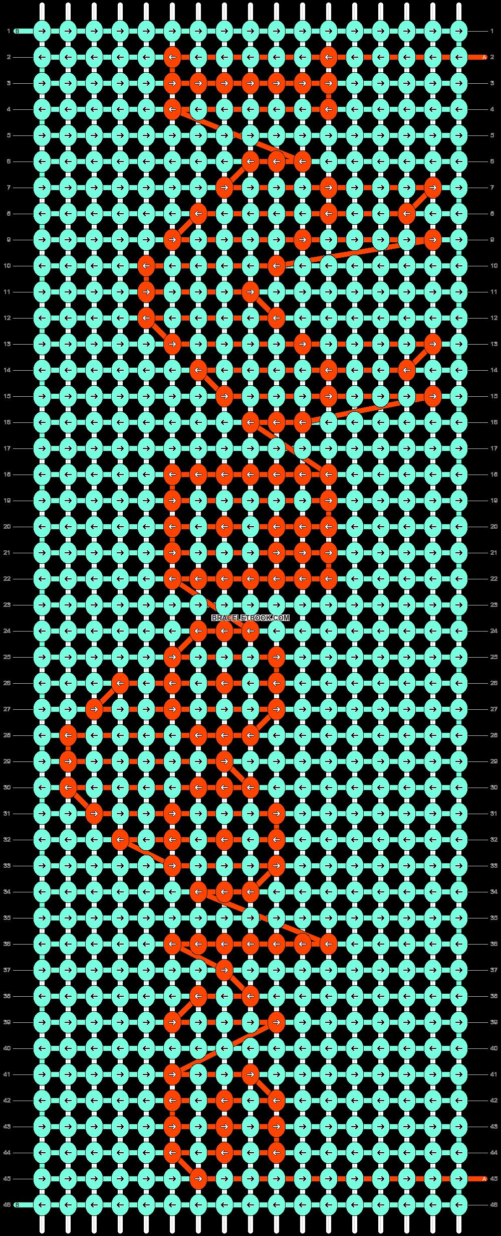 Alpha pattern #89995 pattern