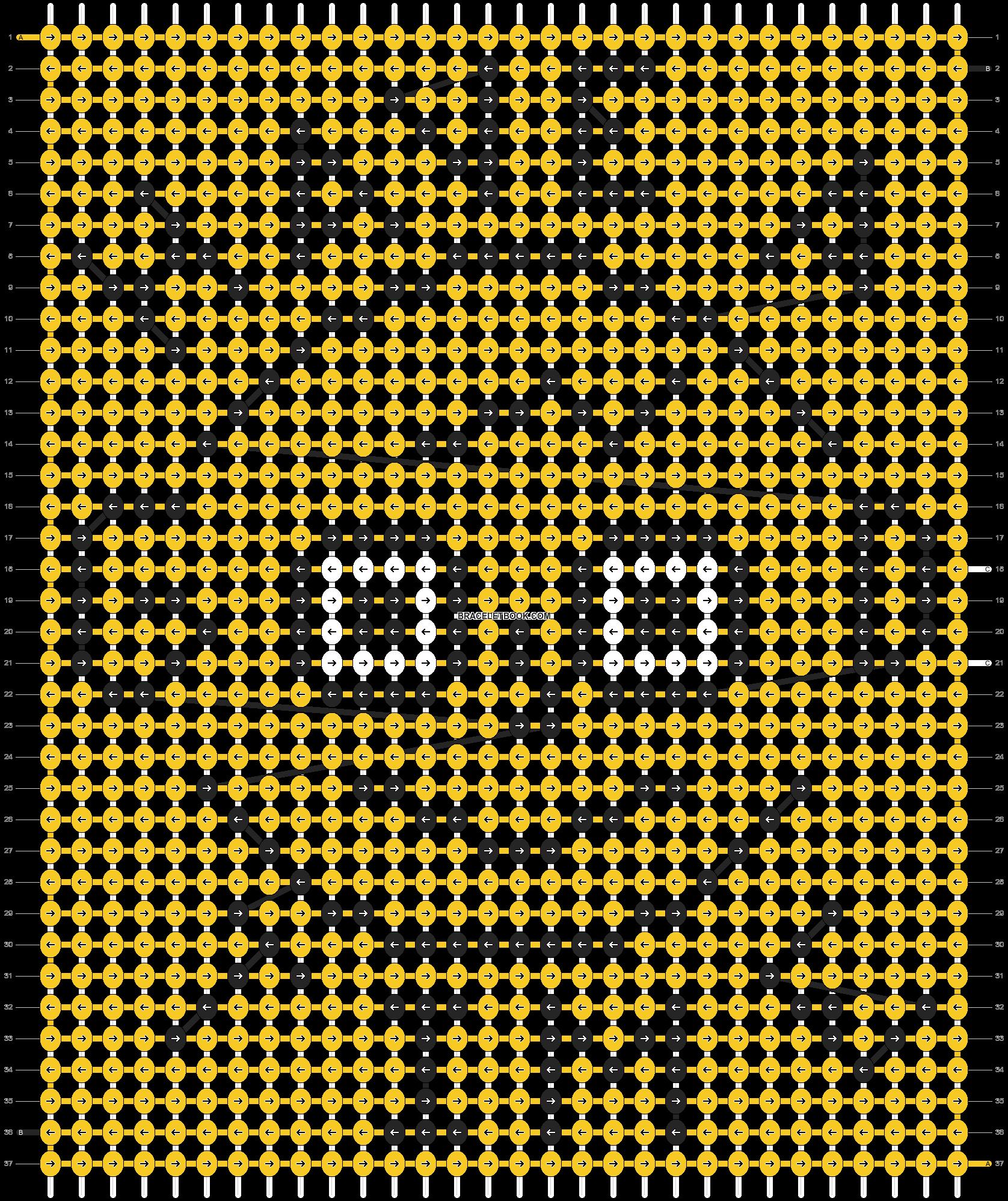 Alpha pattern #89997 pattern