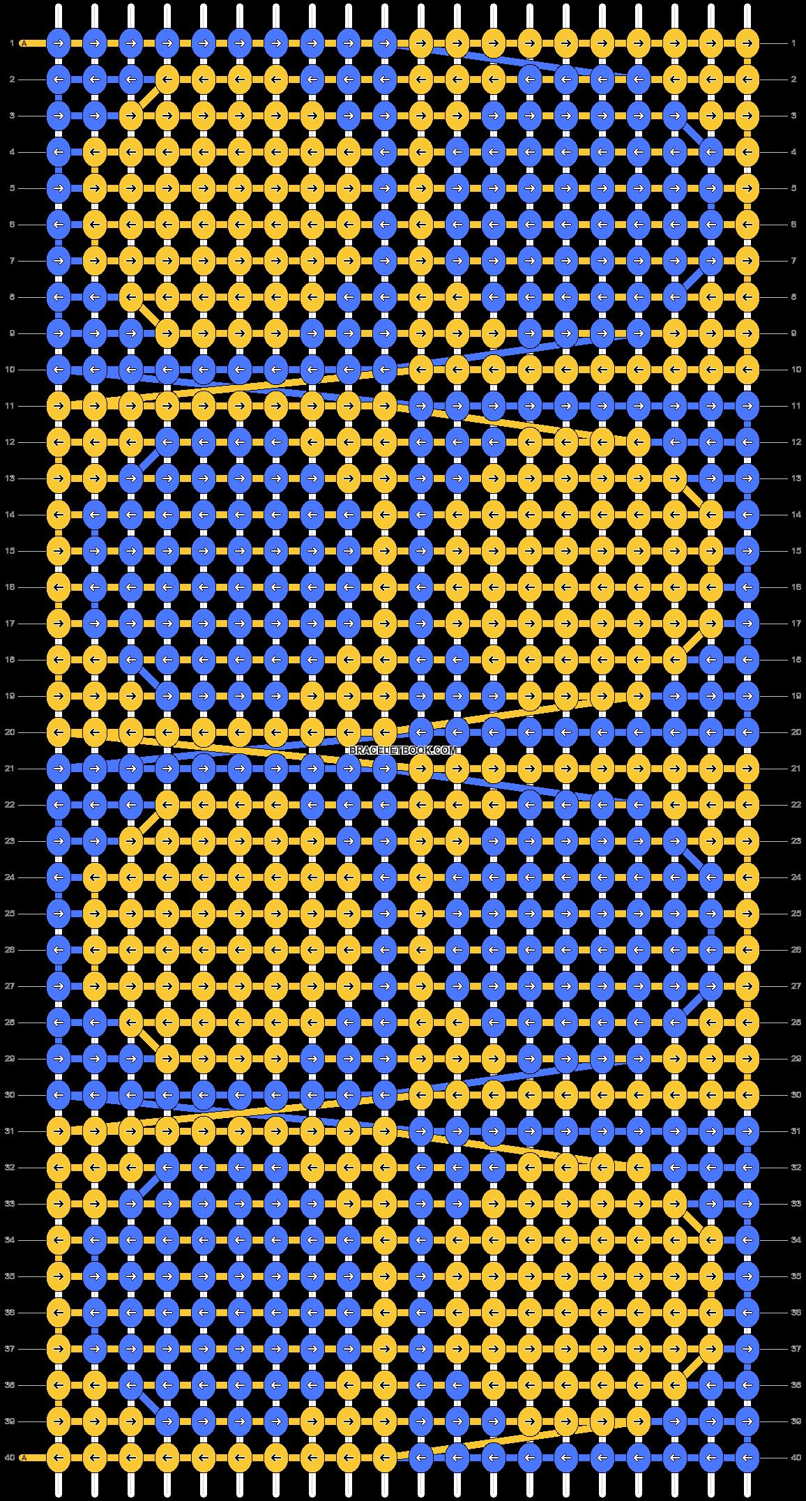 Alpha pattern #90022 pattern