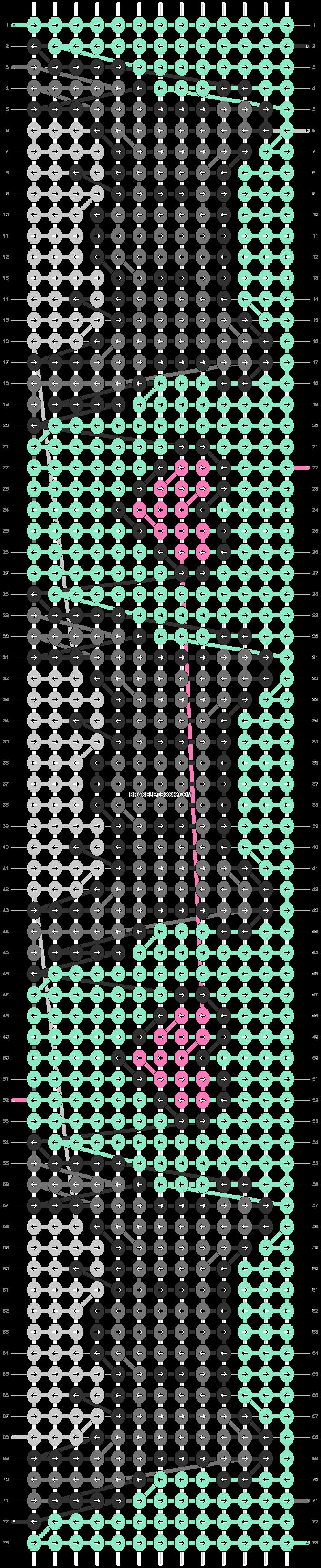 Alpha pattern #90036 pattern