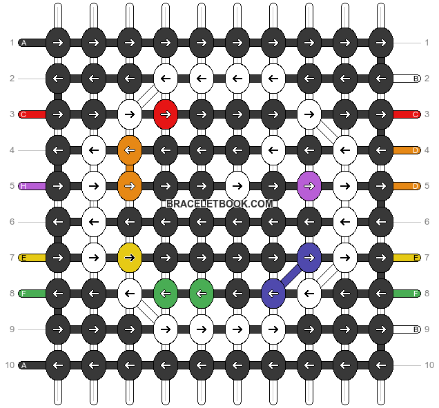 Alpha pattern #90065 pattern
