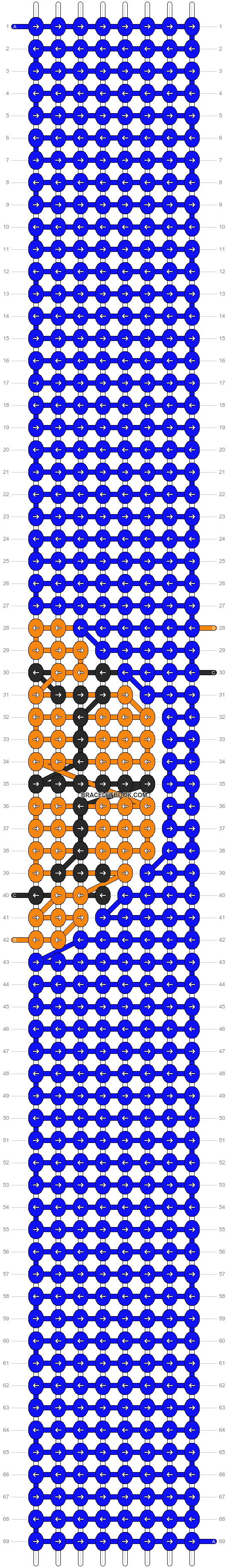 Alpha pattern #90077 pattern