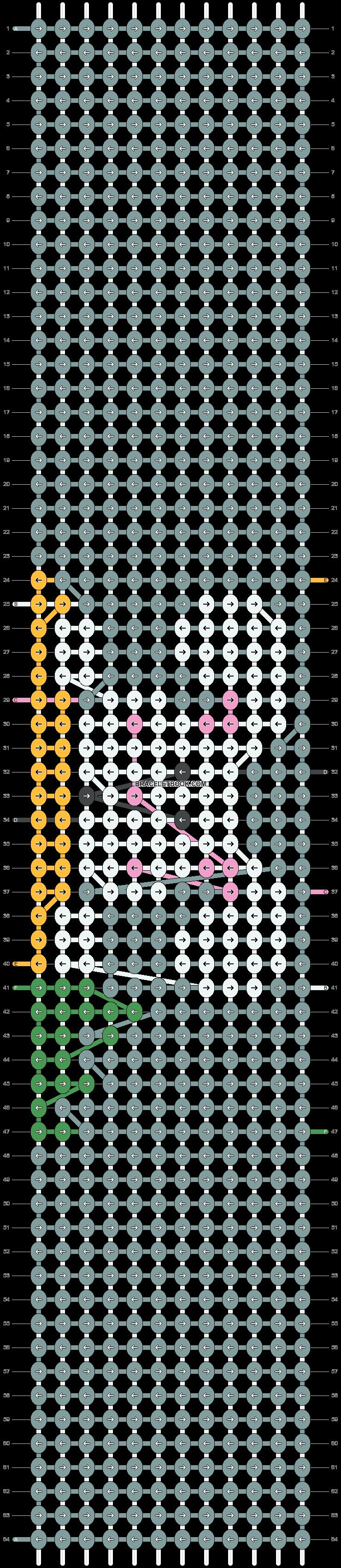 Alpha pattern #90082 pattern
