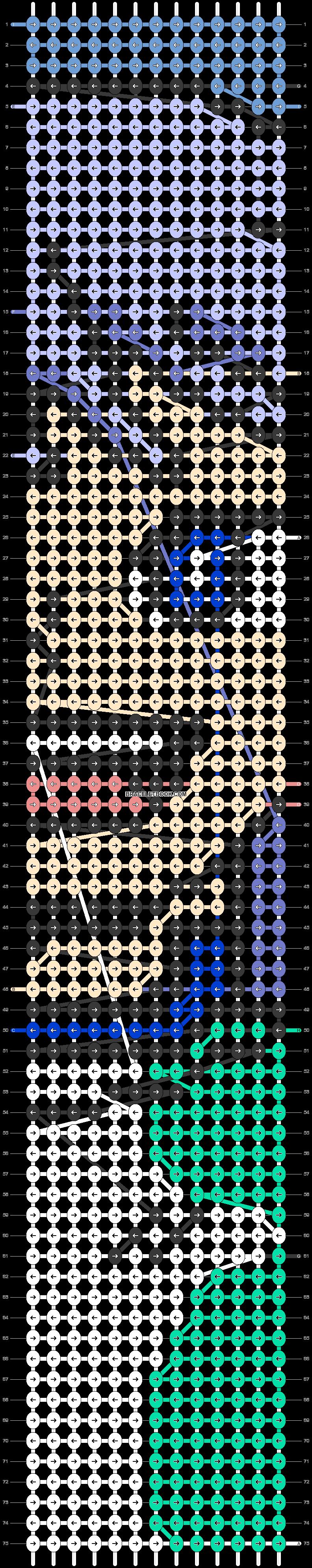 Alpha pattern #90083 pattern