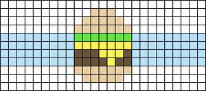Alpha pattern #90090