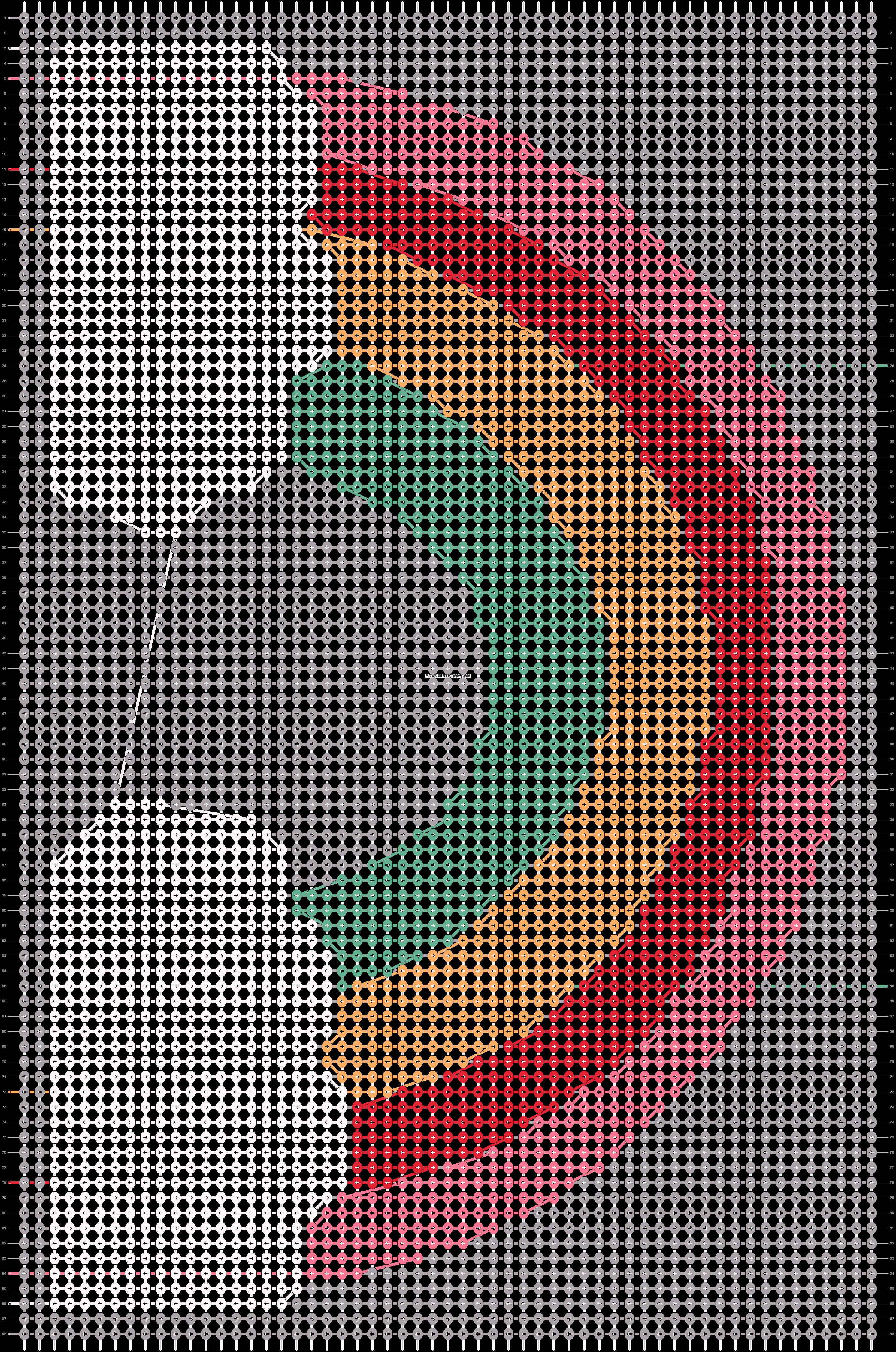 Alpha pattern #90093 pattern