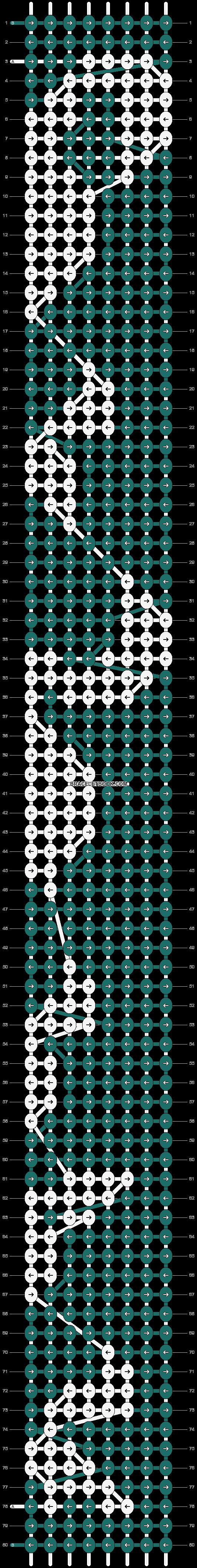 Alpha pattern #90107 pattern