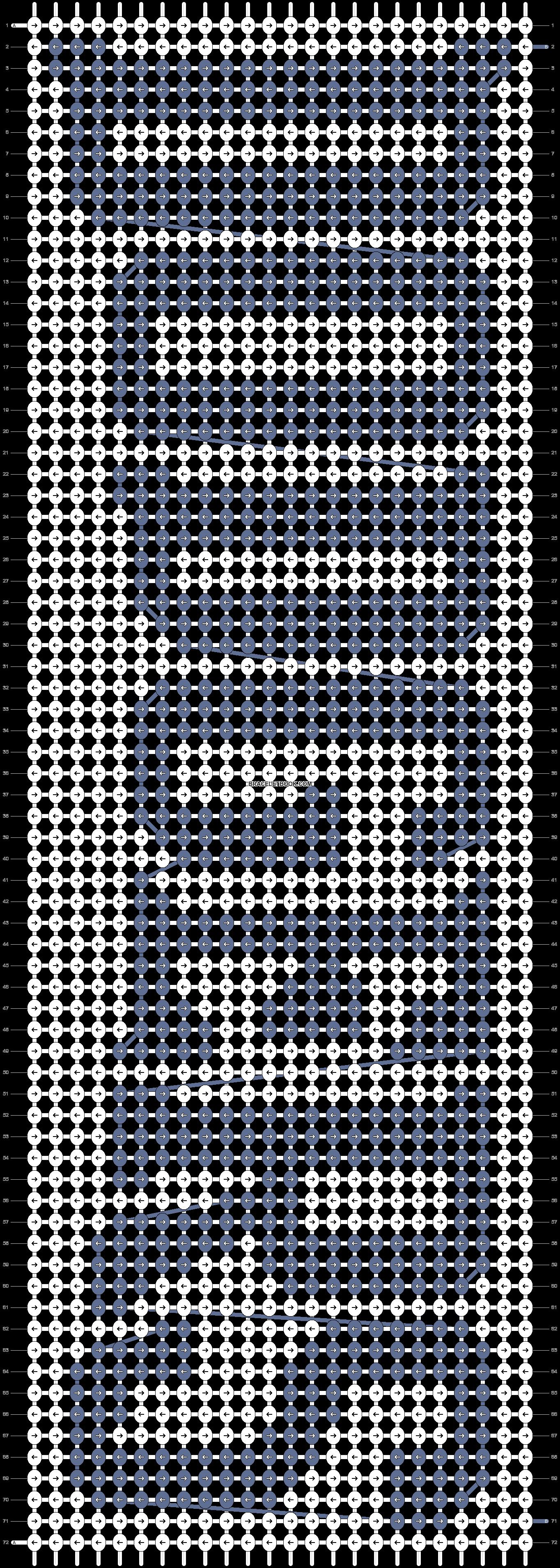 Alpha pattern #90108 pattern