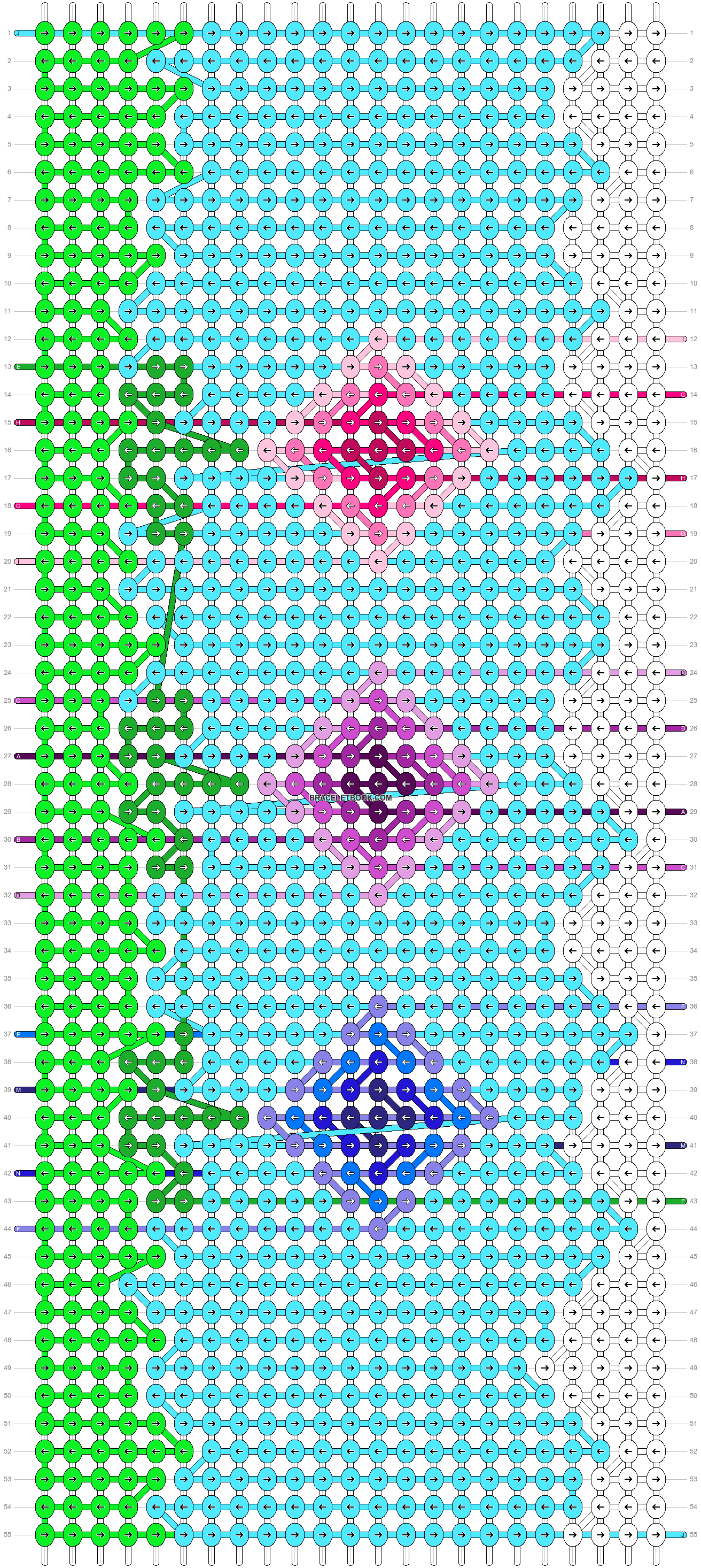 Alpha pattern #90115 pattern