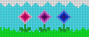 Alpha pattern #90115