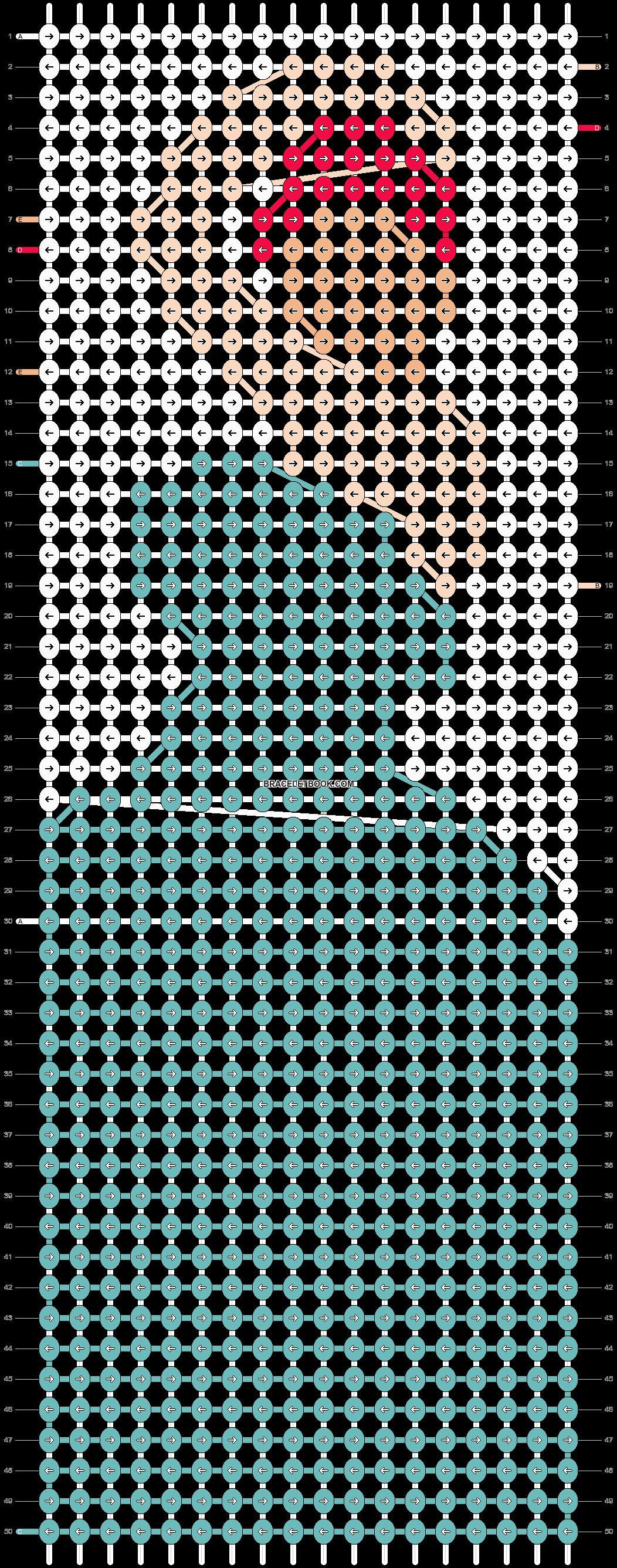 Alpha pattern #90117 pattern