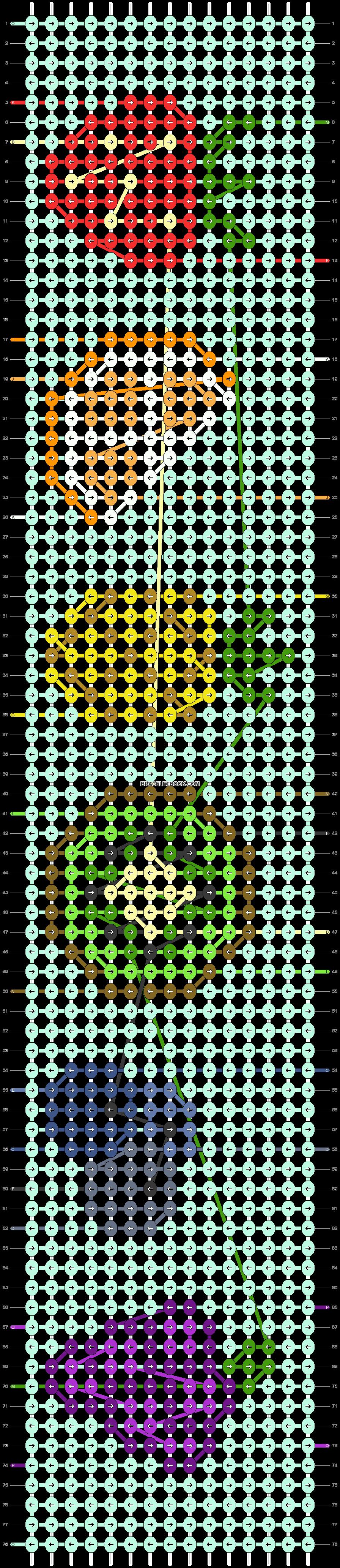 Alpha pattern #90121 pattern