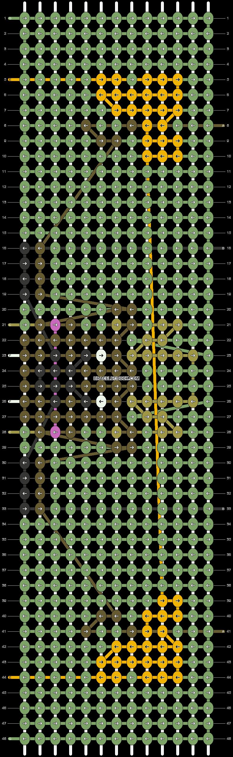 Alpha pattern #90123 pattern