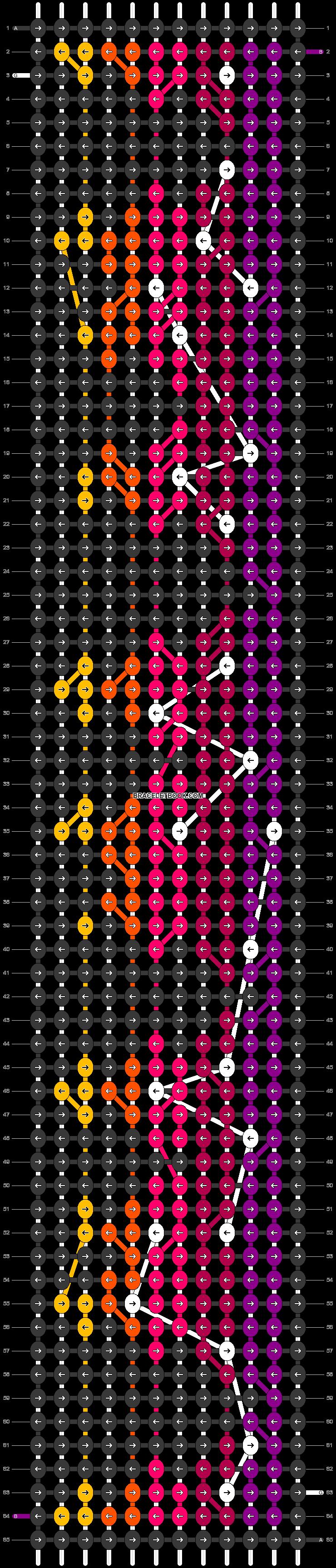 Alpha pattern #90124 pattern